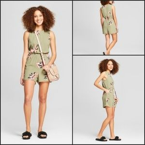 🔥A New Day Large Printed Crepe Olive Green/xxl